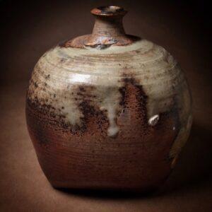 Auguste Elder ClayHouse Brookly Painted Pot
